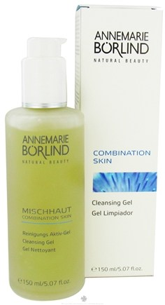 DROPPED: Borlind of Germany - Annemarie Borlind Natural Beauty Combination Skin Cleansing Gel - 5.07 oz. CLEARANCE PRICED