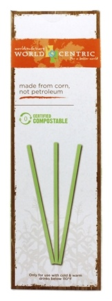 World Centric - Compostable Straws - 50 Count