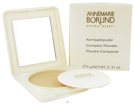 DROPPED: Borlind of Germany - Annemarie Borlind Natural Beauty Compact Powder Transparent 04 - 0.31 oz. CLEARANCE PRICED