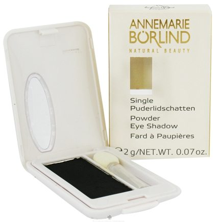 DROPPED: Borlind of Germany - Annemarie Borlind Natural Beauty Powder Eye Shadow Black 19 - 0.07 oz. CLEARANCE PRICED