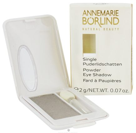 DROPPED: Borlind of Germany - Annemarie Borlind Natural Beauty Powder Eye Shadow Silver 20 - 0.07 oz. CLEARANCE PRICED