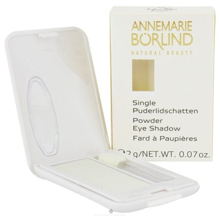 DROPPED: Borlind of Germany - Annemarie Borlind Natural Beauty Powder Eye Shadow White 21 - 0.07 oz. CLEARANCE PRICED