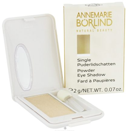 DROPPED: Borlind of Germany - Annemarie Borlind Natural Beauty Powder Eye Shadow Beige 22 - 0.07 oz. CLEARANCE PRICED