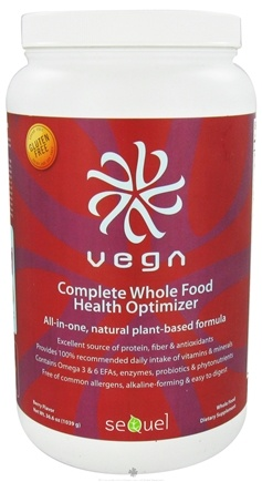DROPPED: Vega - Complete Whole Food Health Optimizer Berry - 36.6 oz.
