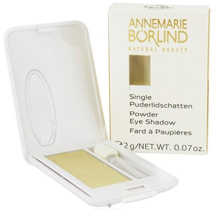 DROPPED: Borlind of Germany - Annemarie Borlind Natural Beauty Powder Eye Shadow Gold 23 - 0.07 oz. CLEARANCE PRICED