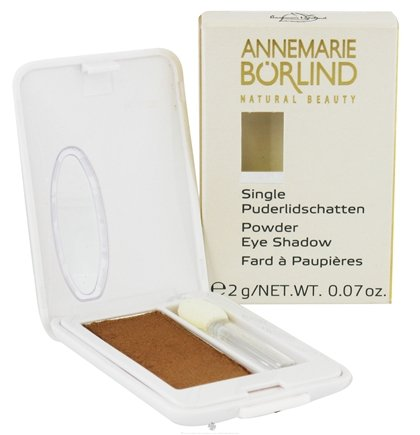 DROPPED: Borlind of Germany - Annemarie Borlind Natural Beauty Powder Eye Shadow Bronze 28 - 0.07 oz. CLEARANCE PRICED