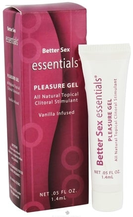 DROPPED: Sinclair Institute - Better Sex Essentials Pleasure Gel All Natural Topical Clitoral Stimulant Vanilla Infused - 0.05 oz.