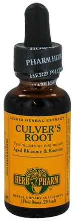 DROPPED: Herb Pharm - Culver's Root Extract - 1 oz. CLEARANCE PRICED