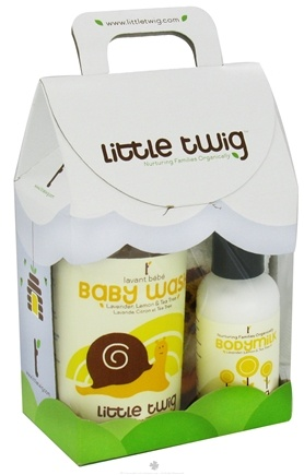 DROPPED: Little Twig - Mini Gift Set Organic Calming Lavender - 1 Set(s) CLEARANCE PRICED