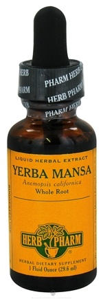 DROPPED: Herb Pharm - Yerba Mansa Extract - 1 oz. CLEARANCE PRICED