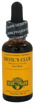 DROPPED: Herb Pharm - Devil's Club Exract - 1 oz. CLEARANCE PRICED