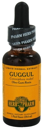 DROPPED: Herb Pharm - Guggul Extract - 1 oz. CLEARANCE PRICED