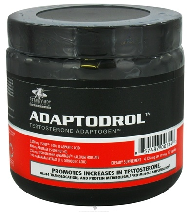 DROPPED: Betancourt Nutrition - Adaptodrol Testosterone Adaptogen - 147 Capsules CLEARANCE PRICED