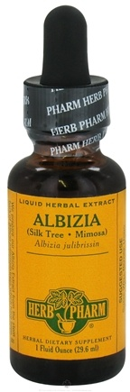 DROPPED: Herb Pharm - Albizia Extract - 1 oz. CLEARANCE PRICED