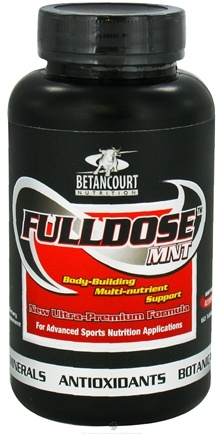 DROPPED: Betancourt Nutrition - Fulldose MNT - 60 Tablets CLEARANCE PRICED