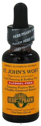 DROPPED: Herb Pharm - St. John's Wort Glycerite Extract - 1 oz.