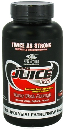 DROPPED: Betancourt Nutrition - Ripped Juice EX2 - 100 Capsules