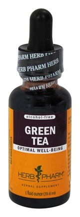 DROPPED: Herb Pharm - Green Tea Glycerite Extract - 1 oz.