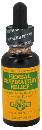 DROPPED: Herb Pharm - Herbal Respiratory Relief - 1 oz. Formerly Wild Cherry Pestasites Compound. CLEARANCE PRICED