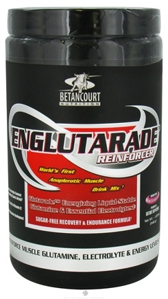 DROPPED: Betancourt Nutrition - Englutarade Reinforcer Sugar Free Kiwi Strawberry - 540 Grams CLEARANCE PRICED