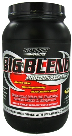 DROPPED: Betancourt Nutrition - Big Blend Proteosynthetic French Vanilla - 2.47 oz.