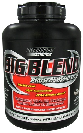 DROPPED: Betancourt Nutrition - Big Blend Proteosynthetic White Chocolate - 4.25 lbs. CLEARANCE PRICED