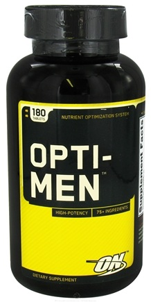 DROPPED: Optimum Nutrition - Opti-Men Multiple Vitamin - 180 Tablets