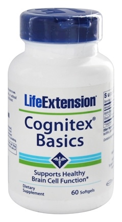 DROPPED: Life Extension - Cognitex Basics - 60 Softgels