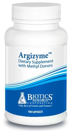 DROPPED: Biotics Research - Argizyme - 100 Capsules CLEARANCE PRICED