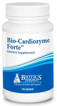 DROPPED: Biotics Research - Bio-Cardiozyme Forte - 120 Tablets CLEARANCE PRICED