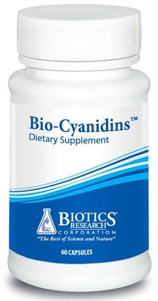 DROPPED: Biotics Research - Bio-Cyanidins - 60 Tablets CLEARANCE PRICED