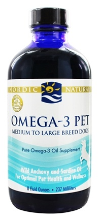 Nordic Naturals - Omega-3 Pet For Medium to Large Breed Dogs - 8 oz.
