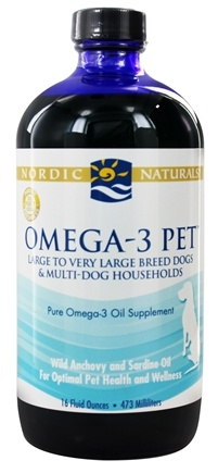 Nordic Naturals - Omega-3 Pet For Large & Very Large Breed Dogs & Multi-Dog Households - 16 oz.