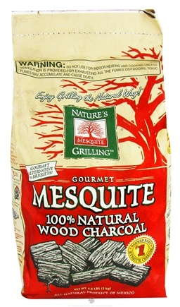 DROPPED: Nature's Grilling Products - 100% Natural Wood Charcoal Gourmet Mesquite - 6.6 lbs.