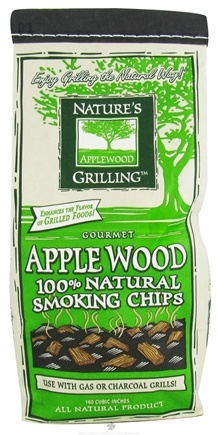 DROPPED: Nature's Grilling Products - 100% Natural Smoking Chips Gourmet Applewood - 2 lbs. CLEARANCE PRICED