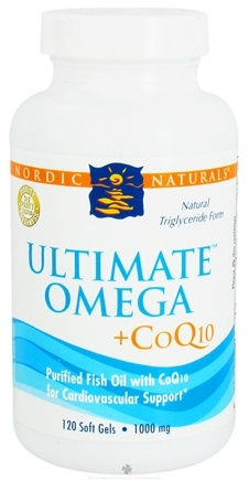 DROPPED: Nordic Naturals - Ultimate Omega + CoQ10 - 120 Softgels