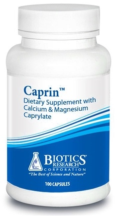 DROPPED: Biotics Research - Caprin with Calcium & Magnesium Caprylate - 100 Capsules CLEARANCE PRICED