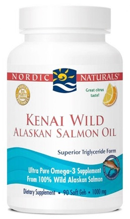 DROPPED: Nordic Naturals - Kenai Wild Alaskan Salmon Oil 1000 mg. - 90 Softgels
