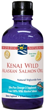 DROPPED: Nordic Naturals - Kenai Wild Alaskan Salmon Oil - 8 oz.