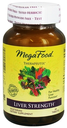 DROPPED: MegaFood - Therapeutix Liver Strength For Healthy Liver Function - 60 Vegetarian Tablets CLEARANCE PRICED