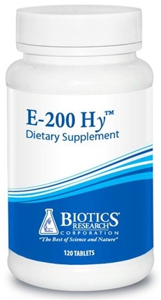 DROPPED: Biotics Research - E-200 Hg Gamma - 120 Capsules CLEARANCE PRICED