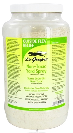 DROPPED: Dr. Goodpet - Outside Flea Relief Non-Toxic Yard Spray - 1.5 lbs. CLEARANCE PRICED