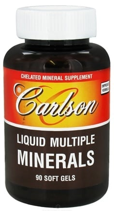 DROPPED: Carlson Labs - Liquid Multiple Minerals - 90 Softgels CLEARANCE PRICED