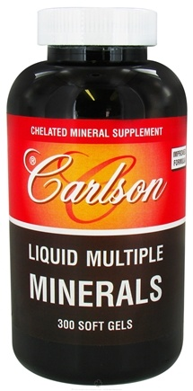 DROPPED: Carlson Labs - Liquid Multiple Minerals - 300 Softgels