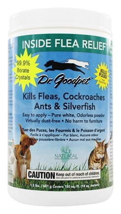 Dr. Goodpet - Inside Flea Relief - 1.5 lbs.