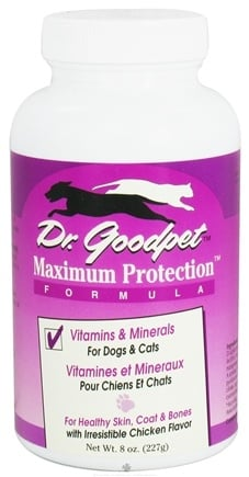 DROPPED: Dr. Goodpet - Maximum Protection Formula Vitamins & Minerals for Dogs & Cats - 8 oz. CLEARANCE PRICED