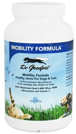 DROPPED: Dr. Goodpet - Mobility Formula Healthy Joints for Dogs & Cats - 8 oz. CLEARANCE PRICED