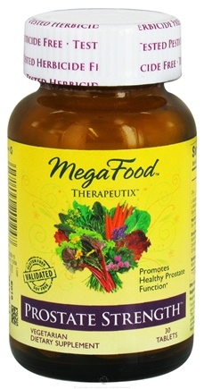 DROPPED: MegaFood - Therapeutix Prostate Strength - 30 Vegetarian Tablets CLEARANCE PRICED