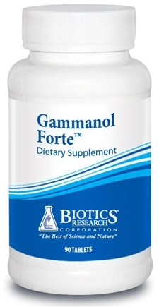DROPPED: Biotics Research - Gammanol Forte - 90 Tablet(s) CLEARANCE PRICED