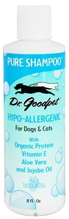 DROPPED: Dr. Goodpet - Pure Shampoo Hypo-Allergenic For Dogs & Cats - 8 oz. CLEARANCE PRICED